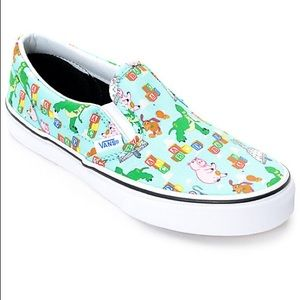 🏷 NWT Vans Slip on Toy Story Shoes 🏷